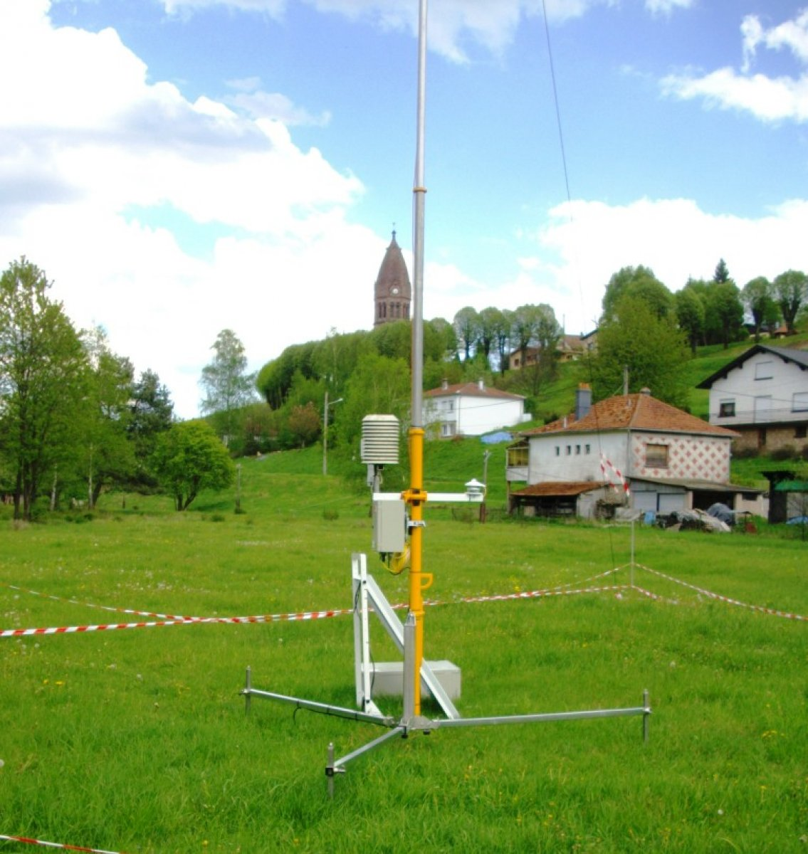 QT mast as a weather station